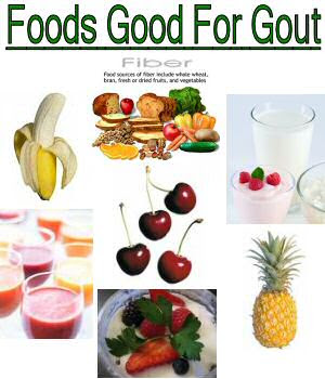 Stop the Gout by Eating the Right Food Food-good-for-gout483