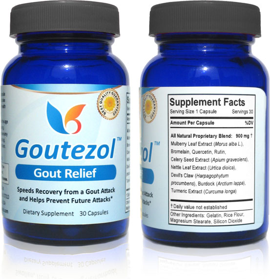 Natural Gout Treatment Gout-relief380