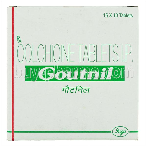 Other Names for Colchicine and Natural Gout Treatments- Goutnil-colchicine-mg-box