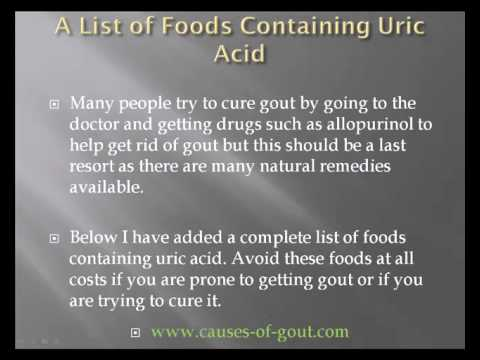 What Foods Contain High Uric Acid and How Much Do You Know Hqdefault0702