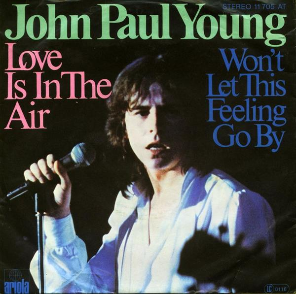 Human Pheromone and Love in the Air John-paul-young-love-is-in-the-air-ariola