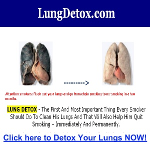 Bronchitis Heart Rate and Cleaning Out Your Lungs  Lung-detox