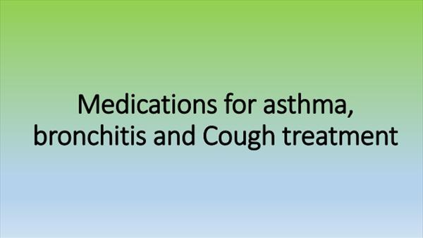 Asthma Institutes Bronchitis Breathing Medications-for-asthma-bronchitis-and-cough-treatment