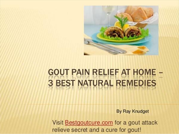 Acupressure Diet Rings: Gout Herbal Remedies: Natural Ways Slide