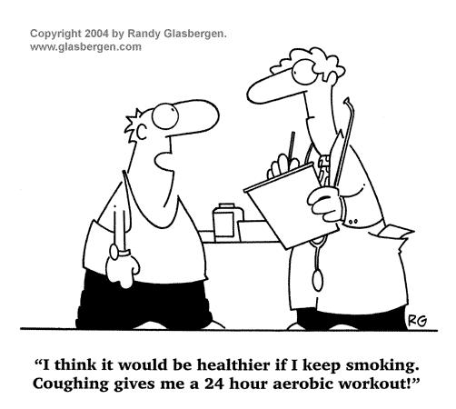 Coughing and Heart Diseases Smoke