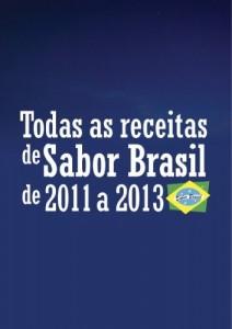 "Baixar Todas as receitas de ""Sabor Brasil"" de 2011 a 2013 pdf, epub, eBook"