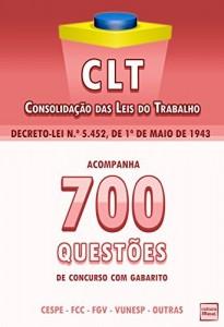 Baixar CLT + 700 Questões Sobre Direito do Trabalho pdf, epub, eBook
