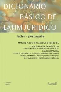 Baixar Dicionário Básico de Latim Jurídico pdf, epub, eBook