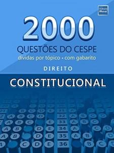 Baixar 2000 Questões do CESPE de Direito Constitucional pdf, epub, eBook