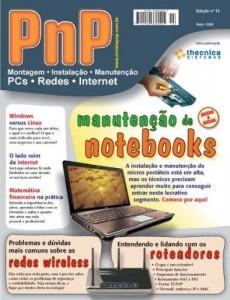 Baixar PnP Digital nº 13 – Manutenção de notebooks, Redes e roteadores wireless, Windows versus Linux, matemática financeira pdf, epub, eBook