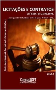 Baixar LICITAÇÕES E CONTRATOS – Lei 8.666, de 21 de Junho de 1993. (Legislação e Questões de Concursos Públicos) pdf, epub, eBook