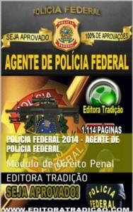 Baixar Polícia Federal 2014 – Agente de Polícia Federal: Módulo de Direito Penal – Versão Atualizada em 10/04/2014 pdf, epub, eBook