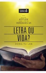 Baixar Alimento Diário – Letra ou Vida? (Nossa Atitude para com as Verdades (2)) pdf, epub, eBook