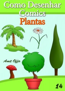Baixar Como Desenhar Comics: Plantas (Livros Infantis Livro 14) pdf, epub, eBook