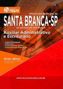 Baixar Apostila Prefeitura de Santa Branca – Auxiliar Administrativo e Escriturário pdf, epub, eBook