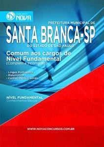 Baixar Apostila Prefeitura de Santa Branca – Comum aos Cargos de Nível Fundamental pdf, epub, eBook