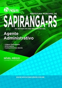 Baixar Apostila Prefeitura de Sapiranga – Agente Administrativo pdf, epub, eBook