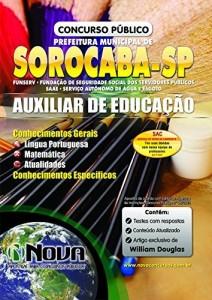 Baixar Apostila Prefeitura de Sorocaba – Auxiliar de Educação pdf, epub, eBook