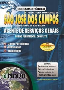 Baixar Apostila Prefeitura de São José dos Campos – Agente de Serviços Gerais pdf, epub, eBook