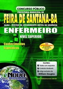 Baixar Apostila SAMU Feira de Santana – Enfermeiro pdf, epub, eBook