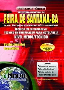 Baixar Apostila SAMU Feira de Santana – Técnico em Enfermagem e Técnico em Enfermagem para Motolância pdf, epub, eBook