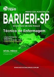 Baixar Apostila Técnico em Enfermagem – Barueri pdf, epub, eBook