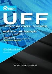 Baixar Apostila UFF – Auxiliar em Administração Classificação C pdf, epub, eBook