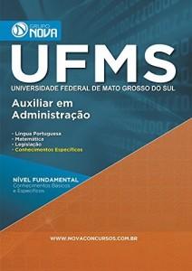 Baixar Apostila UFMS – Universidade Federal de Mato Grosso do Sul – Auxiliar em Administração pdf, epub, eBook