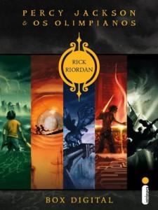 Baixar Box Percy Jackson e os Olimpianos pdf, epub, eBook