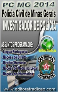 Baixar Polícia Civil de Minas Gerais PC/MG 2014 – Versão Completa: Cargo: Investigador de Polícia pdf, epub, ebook