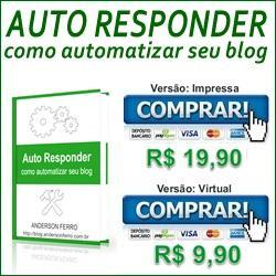 Baixar E-book: Auto Responder, Como Automatizar seu Blog pdf, epub, eBook