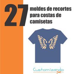 Baixar Apostila Digital 27 Moldes de Recortes Para Costas De Camisetas pdf, epub, eBook