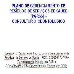 Baixar PGRSS Odontológico Para Preencher pdf, epub, ebook