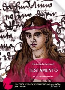 Baixar Testamento (Biblioteca Histórica de Escritoras da Macaronésia. Série Canárias. BHEM-CA 1.1. (T)) pdf, epub, ebook