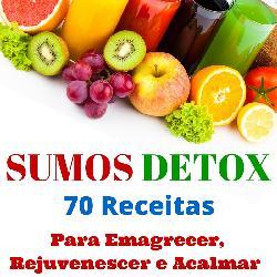 Baixar Sumos Detox – 70 Receitas Para Emagrecer, Desintoxicar e Acalmar pdf, epub, eBook