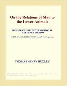 Baixar On the relations of man to the lower animals pdf, epub, eBook