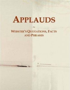 Baixar Applauds: websters quotations, facts and phrases pdf, epub, eBook