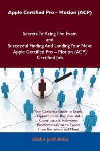 Baixar Apple certified pro – motion (acp) secrets to pdf, epub, eBook