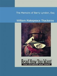 Baixar Memoirs of barry lyndon, esq, the pdf, epub, eBook