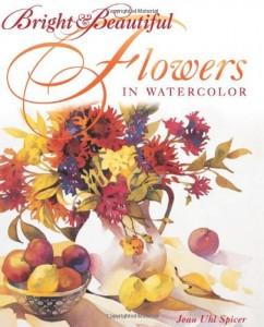 Baixar Bright and beautiful flowers in watercolor pdf, epub, eBook