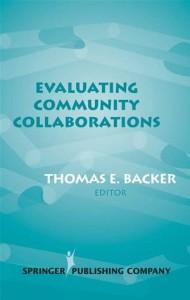 Baixar Evaluating community collaborations pdf, epub, eBook