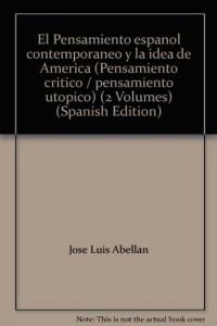 Baixar Pensamiento espanol contemporaneo pdf, epub, ebook