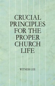 Baixar Crucial principles for the proper church life pdf, epub, ebook