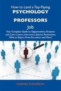 Baixar How to land a top-paying psychology professors pdf, epub, eBook