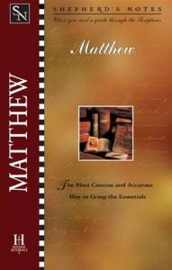 Baixar Shepherd's notes: matthew pdf, epub, eBook