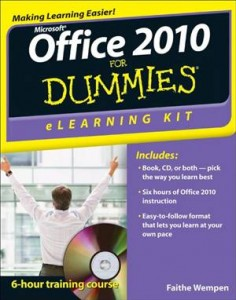 Baixar Office 2010 elearning kit for dummies pdf, epub, eBook
