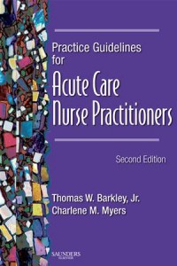 Baixar Practice guidelines for acute care nurse pdf, epub, eBook