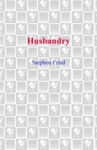 Baixar Husbandry pdf, epub, eBook