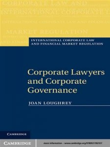 Baixar Corporate lawyers and corporate governance pdf, epub, eBook