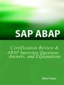 Baixar Sap abap certification review: sap abap pdf, epub, eBook
